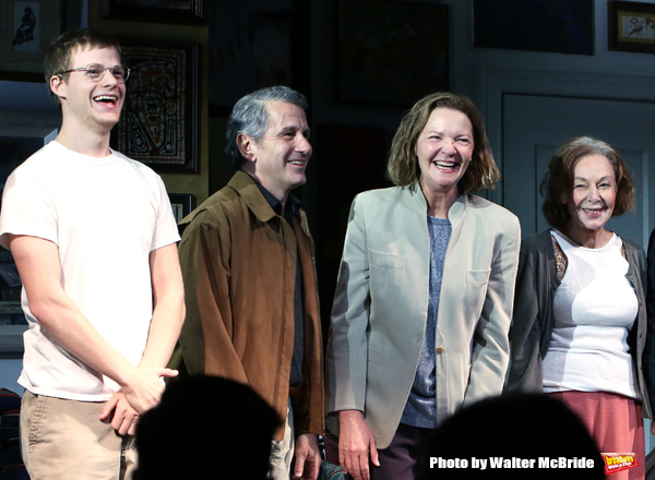 Lucas Hedges, David Cromer, Joan Allen and Elaine May  Photo