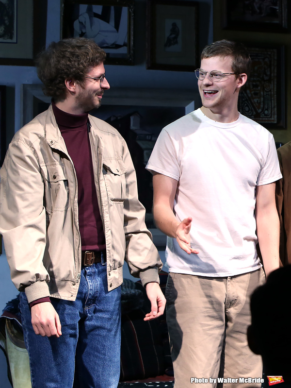 Michael Cera and Lucas Hedges  Photo
