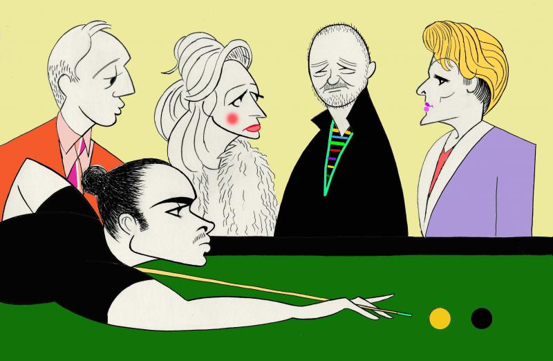 BWW Exclusive: Ken Fallin Draws the Stage - THE NAP
