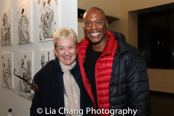 Terria Joseph and Erich McMillan-McCall Photo