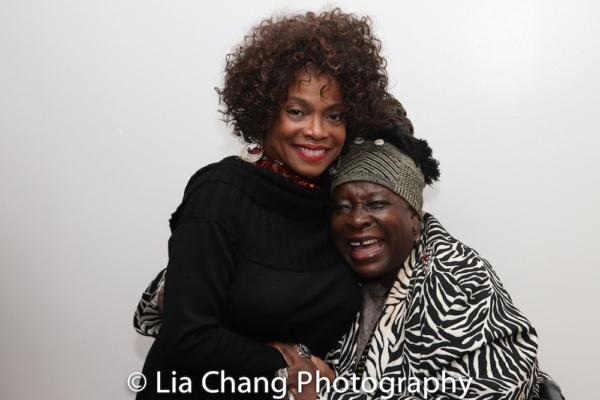 Denise Burse and Ebony Jo-Ann