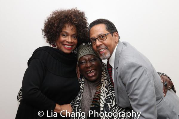 Denise Burse, Ebony Jo-Ann and Peter Jay Fernandez