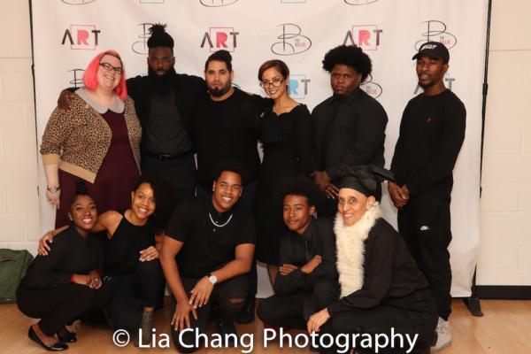 The Billie Holiday DOT Crew with Executive Director of The Billie, Indira Etwaroo (center)