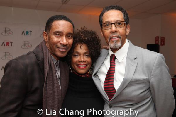 Charles Randolph-Wright, Denise Burse and her husband Peter Jay Fernandez