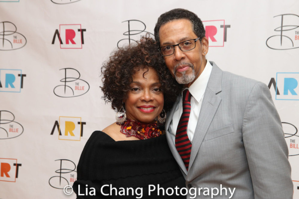 Denise Burse and her husband Peter Jay Fernandez, who was recently featured in Luke C Photo