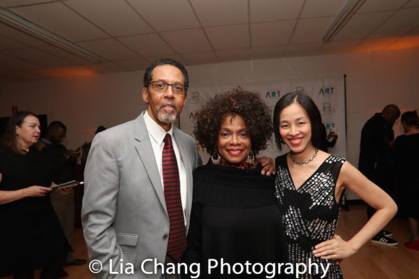 Peter Jay Fernandez, Denise Burse, Lia Chang. Photo by Garth Kravits