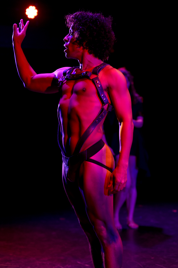 Chris Bell, choreographer, writer, director and performer in YouthandDeath. Photo by  Photo