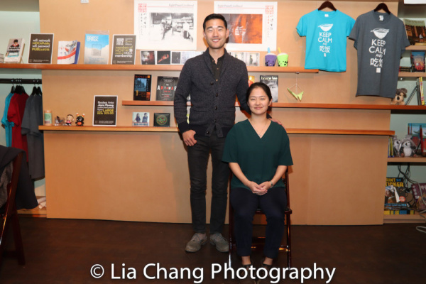 Daniel K. Isaac and Shannon Tyo, stars of THE CHINESE LADY