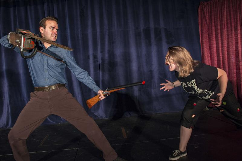 BWW Review: Radical Arts' EVIL DEAD, THE MUSICAL is Bloody Good Halloween Fun