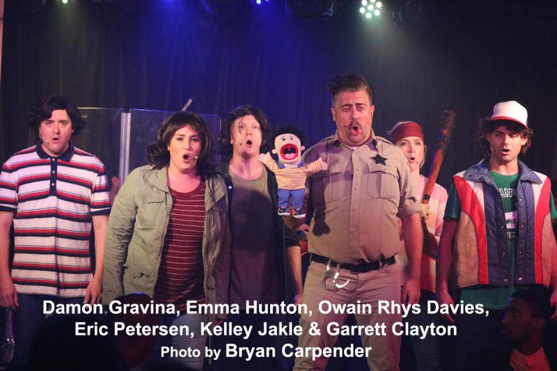 BWW Review: A Marvelously Sung, Laugh Fest - UMPO STRANGER THINGS - No THING Better!!!