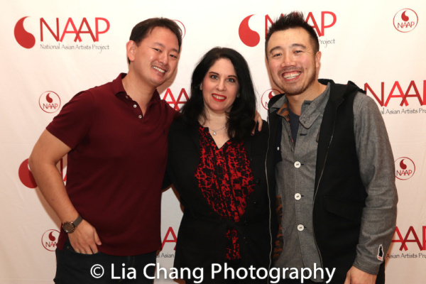 Chris Ee, Stephanie Grayson and Kevin Bang