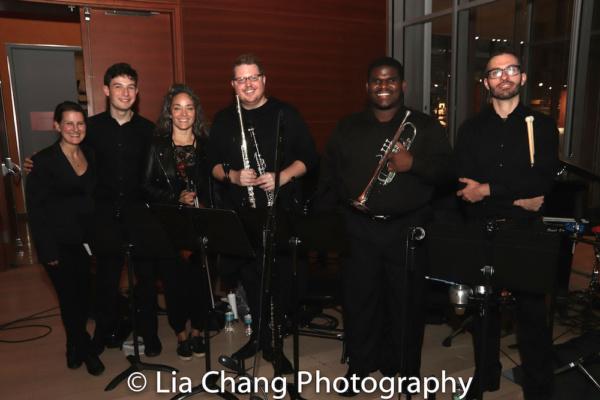 The Band: Kirsten Lee Rosenfeld (Conductor), Griffin Strout (Piano) Kiku Enomoto (Violin), Josh Johnson (Reeds) Clyde Daley (Trumpet), Matt Covey (Percussion)