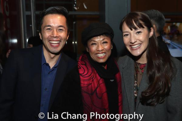 Steven Eng, Baayork Lee and Katie Mariko Murray Photo