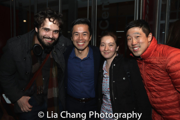 Zack Childers, Steven Lee, Cassey Kivnick and Raymond J. Lee Photo