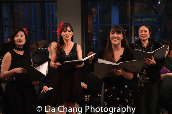 Rebecca Lee Lerman (Lucinda), Kimbirdlee Fadner (Florinda), Rona Figueroa (Stepmother), Katie Mariko Murray (Cinderella)