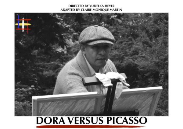 Richard Barreto as Pablo Picasso in 'Dora Versus Picasso'