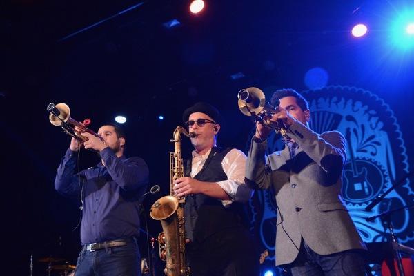 Lorenzo Molina Ruiz, Max Abrams and Julio Diaz Photo