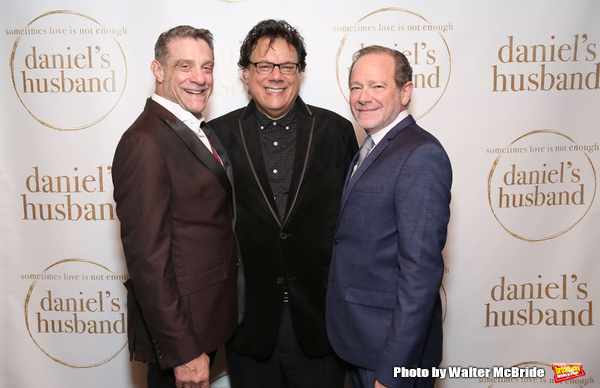 Lou Liberatore, Joe Brancato and Michael McKeever