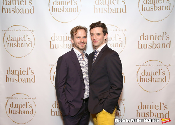 Ryan Spahn and Michael Urie
