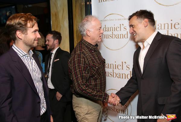 Ryan Spahn, Reed Birney and Matthew Montelongo