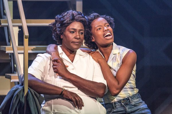 Sharon D. Clarke and Abiona Omonua Photo