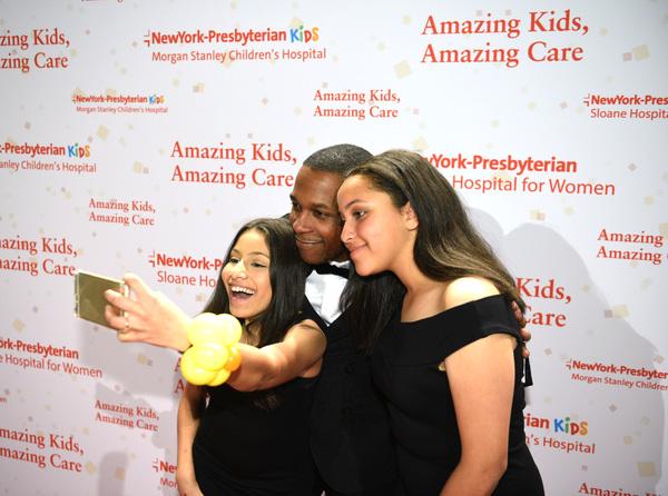Rachel Mason, Leslie Odom, Jr. and Maya Mason