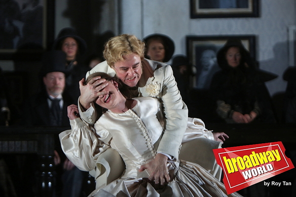 Photo Flash: Exclusive Look at ENO's Lucia di Lammermoor