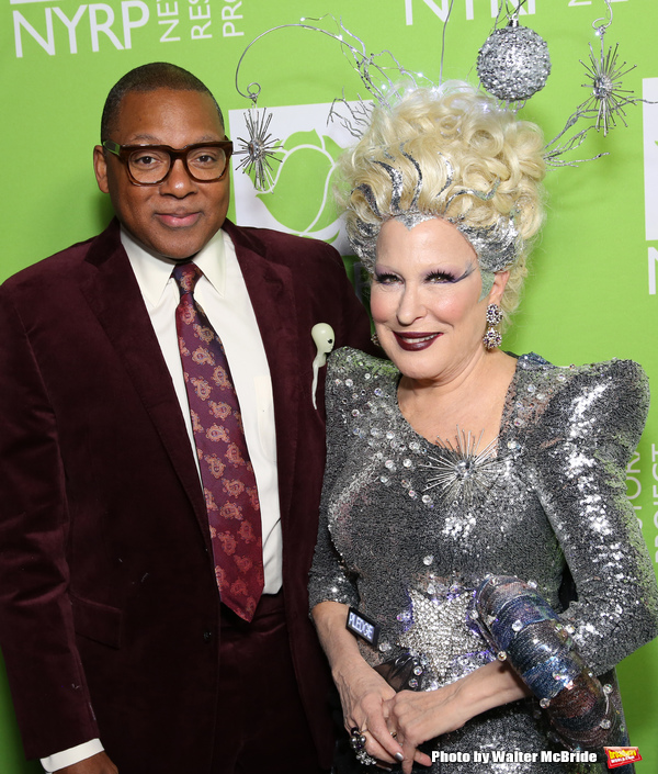 Wynton Marsalis and Bette Midler  Photo