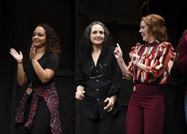 Jasmine Cephas Jones, Bebe Neuwirth and Patti Murin