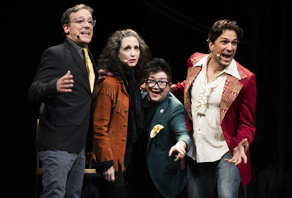 Jeremy Shamos, Bebe Neuwirth, Lea DeLaria and Will Swenson