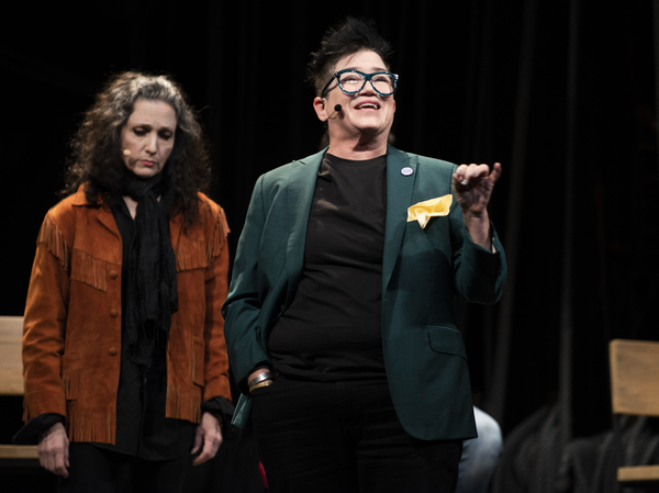 Bebe Neuwirth and Lea DeLaria