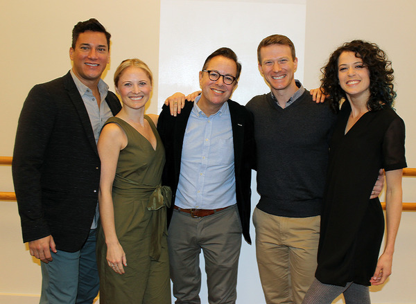 Nicholas Rodriguez, Hayley Podschun, Gordon Greenberg, Jeff Kready, Paige Faure Photo