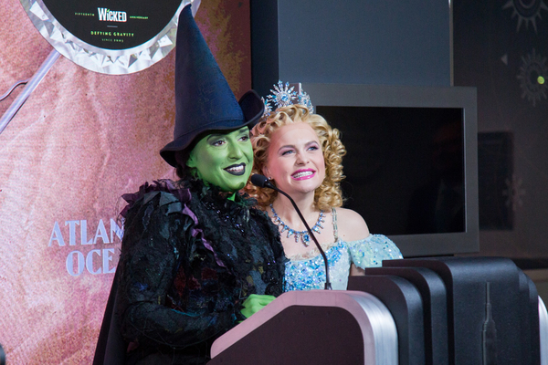 Photo Coverage: The Empire State Gets Swankified to Celebrate WICKED's 15th!