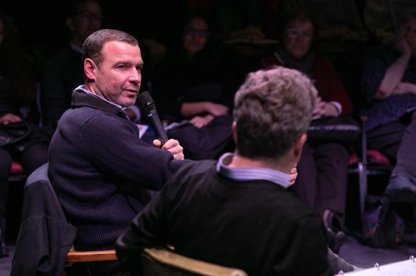 Liev Schreiber and Michael Sexton
