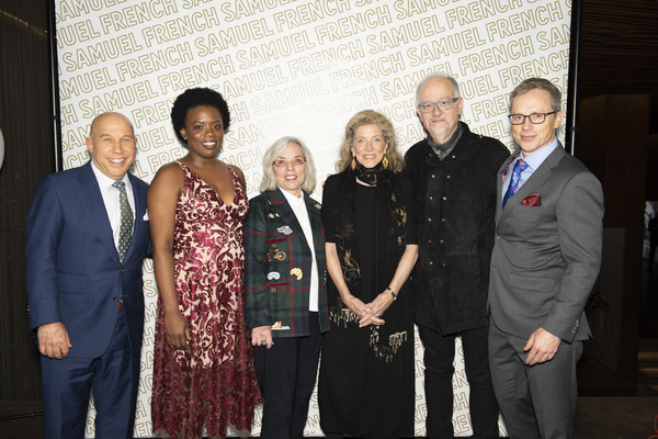 Bruce Lazarus, Antoinette Nwandu, Marsha Norman, Lucy Simon, Doug Wright and Nathan C Photo