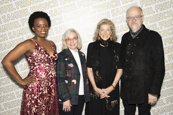 Antoinette Nwandu, Marsha Norman, Lucy Simon, and Doug Wright Photo