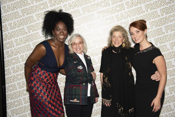 Amber Iman, Marsha Norman, Lucy Simon, and Sierra Boggess Photo