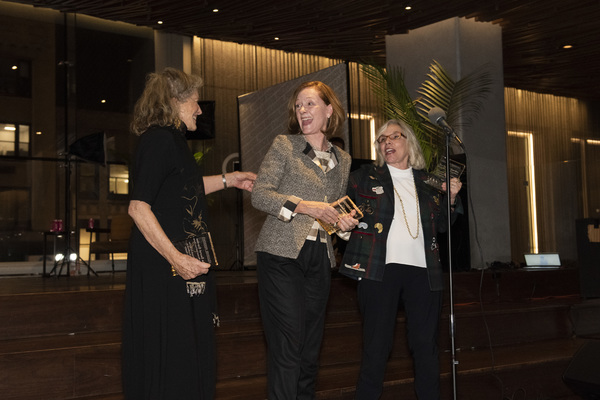 Lucy Simon, Heidi Lettinger, and Marsha Norman Photo