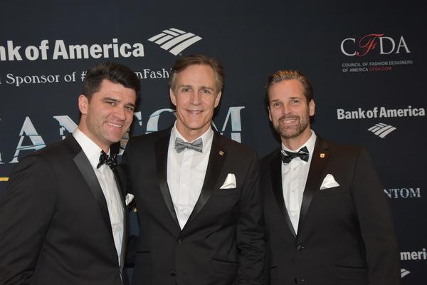 Ben Crawford, Howard McGillin and Hugh Panero