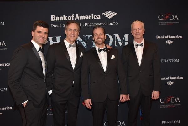 Ben Crawford, Howard McGillin, Hugh Panero and David Caddick