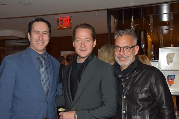 Danny Whitman, Paul Marlow and Joe Mantello
