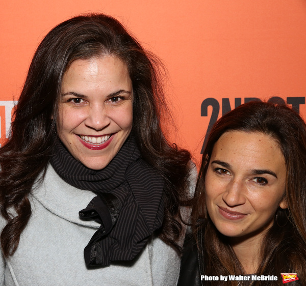 Lindsay Mendez and Sas Goldberg