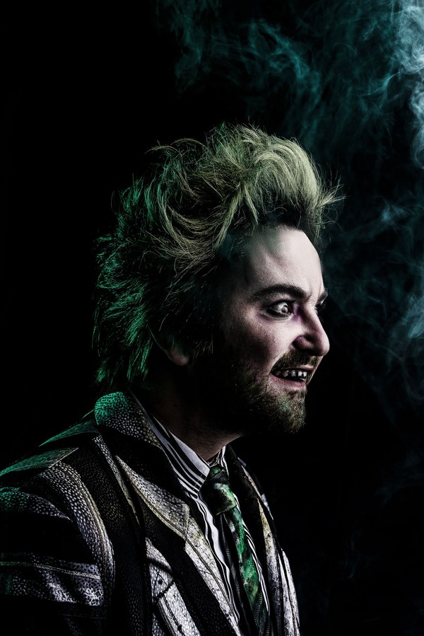Photo Flash: Get a First Look at Alex Brightman and the Cast of BEETLEJUICE in Action