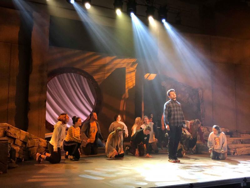 Patriq James Stars in Lipscomb University Theatre's homecoming musical GODSPELL Nov. 2-11