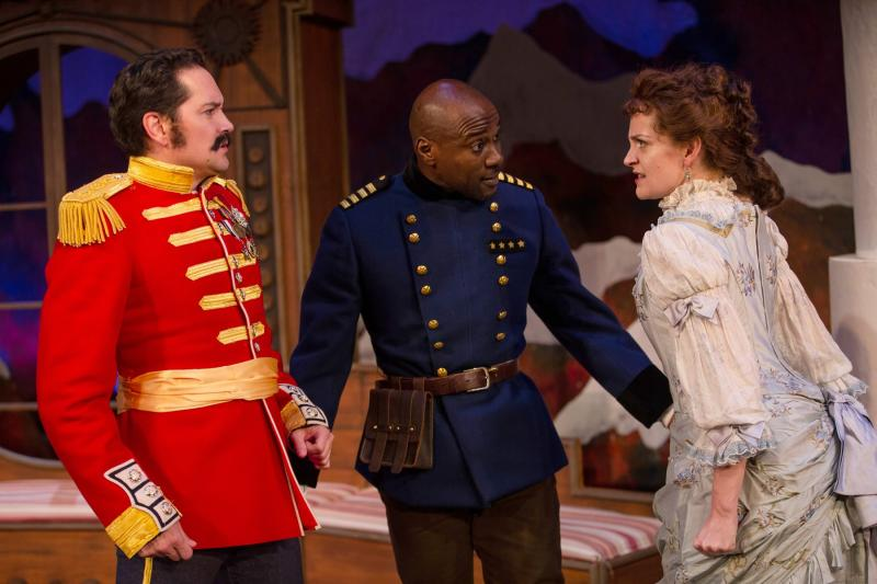 BWW Review: ARMS & THE MAN at Seattle Shakespeare