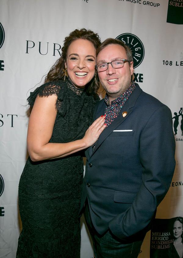 Melissa Errico and Robbie Rozelle Photo