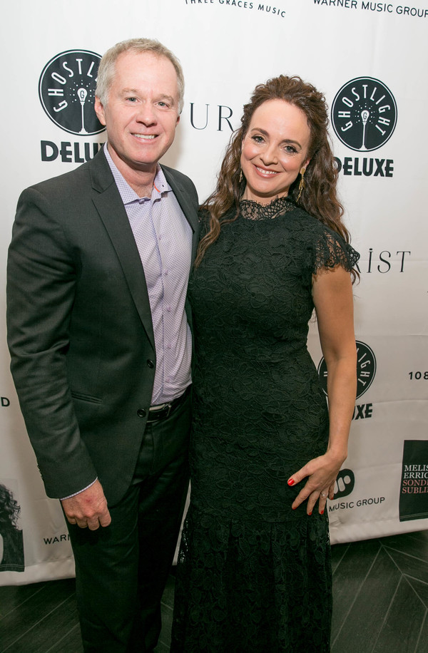 Patrick McEnroe and Melissa Errico Photo