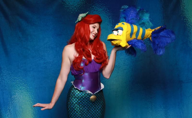 Birdsong and Williams Come Full Circle to Play THE LITTLE MERMAID's Ariel and Prince Eric for NCT