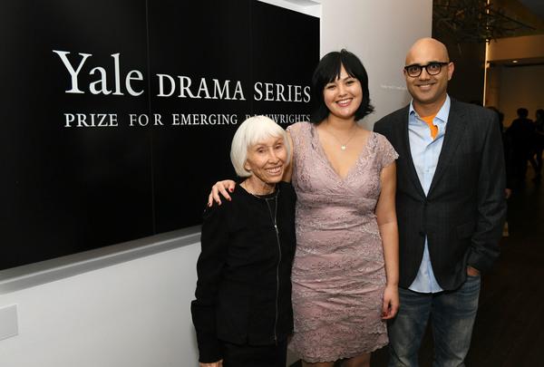 Francine Horn, Leah Nanako Winkler and Ayad Akhtar