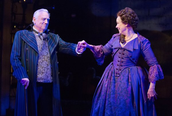 Ed Dixon (Sir Anthony Absolute) & Harriet Harris (Mrs. Malaprop)